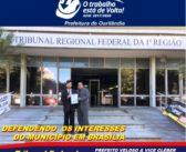 Mais uma vez demostrando o amor e zelo por Ourilândia, o nosso prefeito foi até Brasília lutar por interesses de nossa cidade