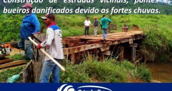Fortes Chuvas causam destruição no município de Ourilândia