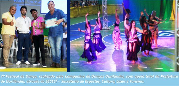Companhia de Danças Ourilândia realiza 7º festival de Dança, com apoio da Prefeitura de Ourilândia