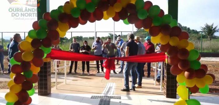 Inauguramos no Projeto Casulo 2, a Escola Jarbas Gonçalves Passarinho, para as crianças do assentamento.